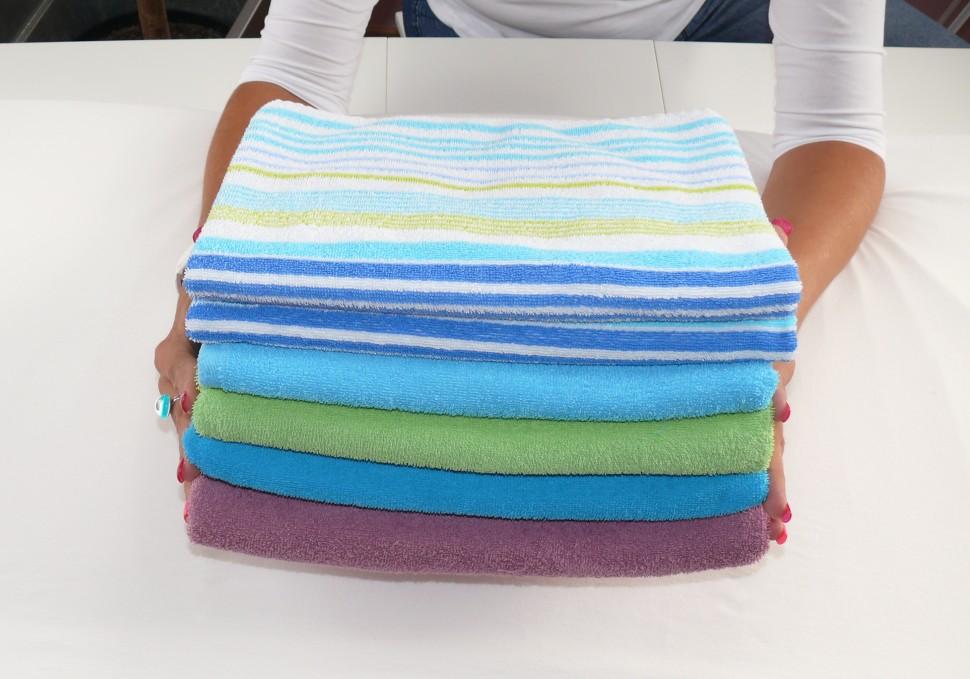 Jak skládat prádlo