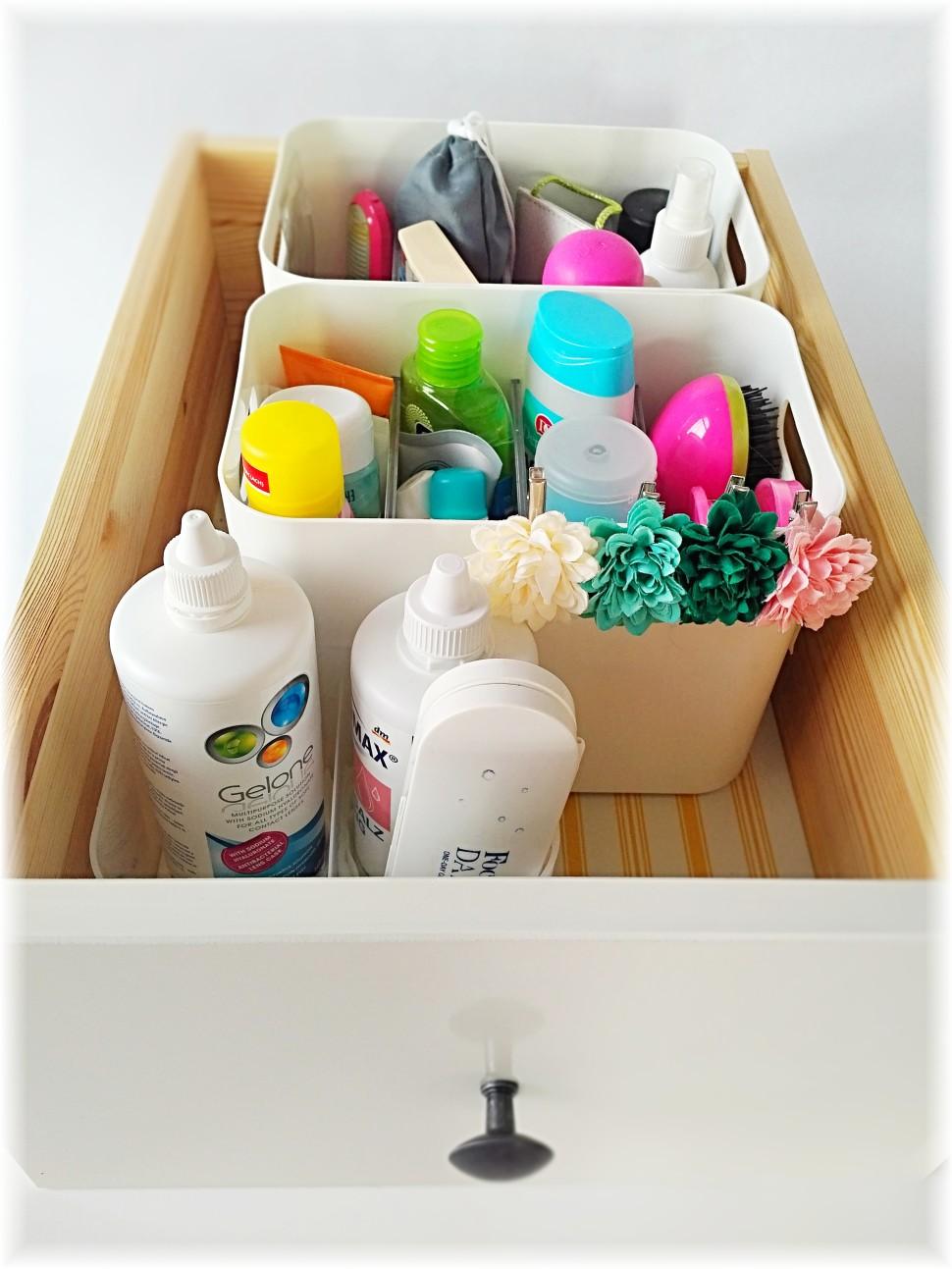 Jak uklidit šuplík - Kosmetika