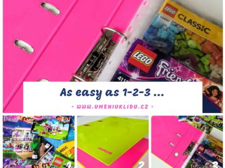 Lego návody v šanonu